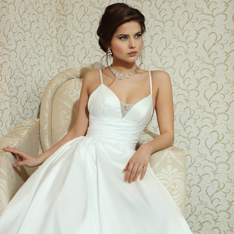 Braut in Brautkleid
